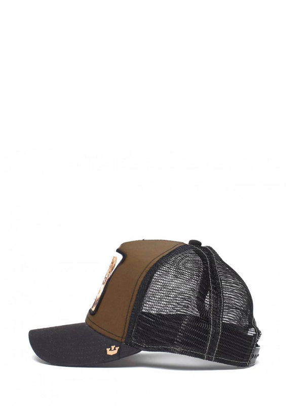 Cappello 101-2747 Marrone nero