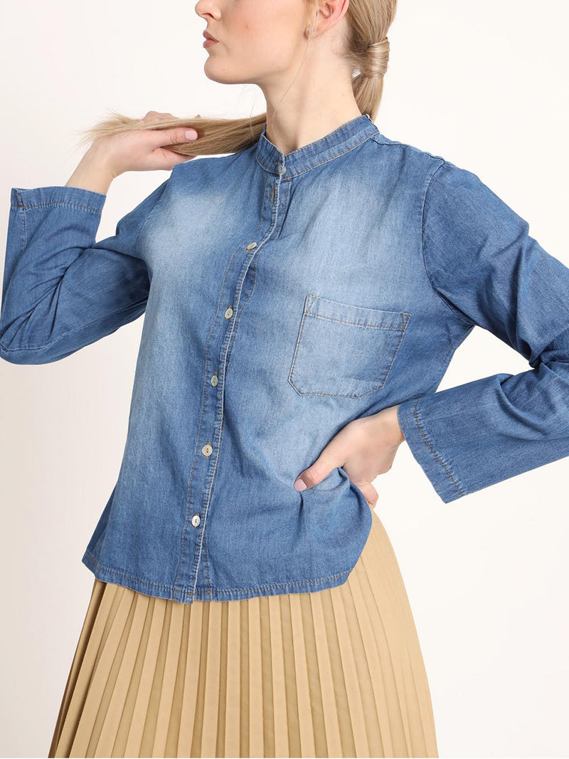 Camicia NONB124 Denim