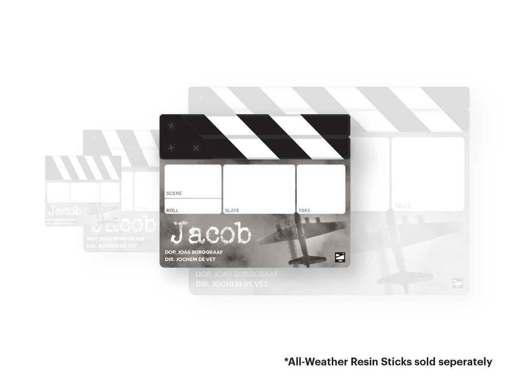 Full-colour Clapperboard (Custom Printed)