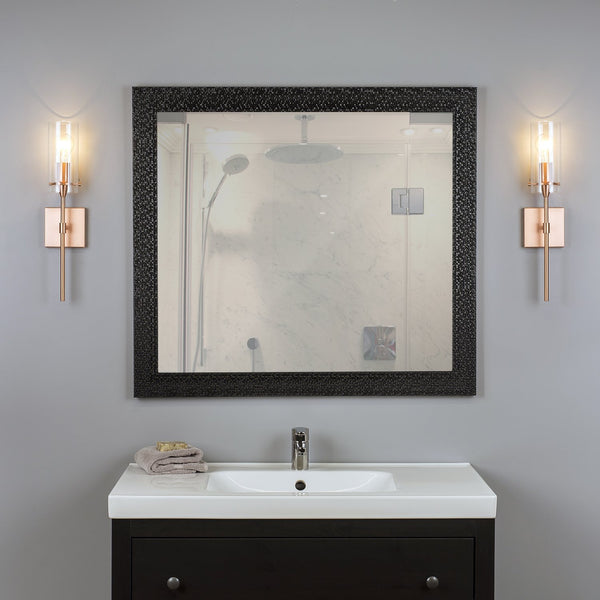 Effimero Wall Light w/ Clear Cylinder Shade
