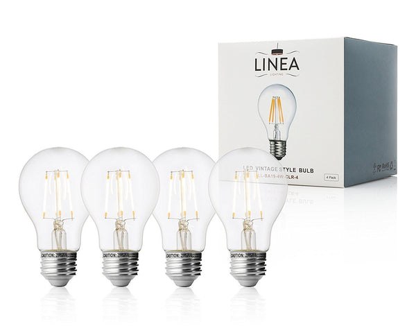 4 Watt A19 LED Light Bulb