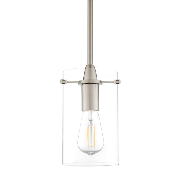 Effimero large Glass pendant lighting with no visible wiring, ideal for dining rooms and kitchens.
