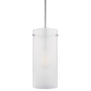 Effimero Large Pendant Light, Frosted Glass