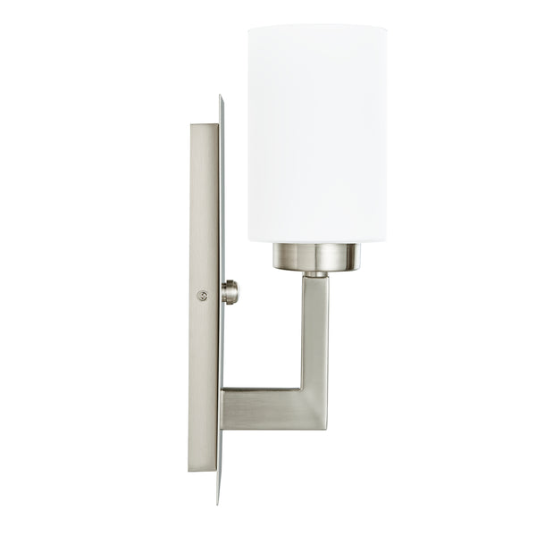 Brio Wall Sconce W Frosted Glass Shade Linea Lighting Modern And Affordable Residential Lighting