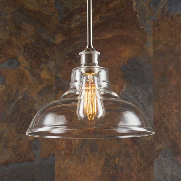 Lucera Industrial Stem Hung Pendant Light