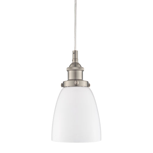 Fiorentino Pendant Light, Milk Glass