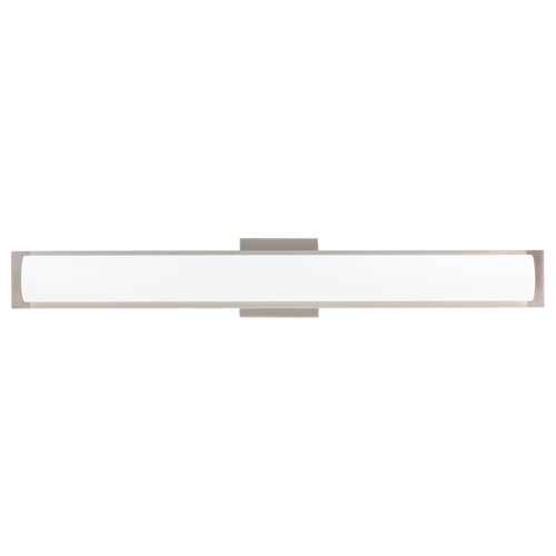 Portico 30 inch LED Bathroom Vanity Light, Integrated LED Light Strip