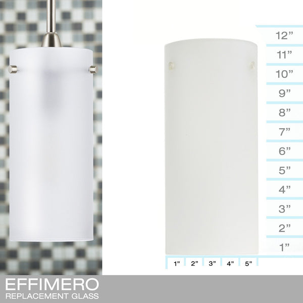 Effimero Large Frosted - REPLACEMENT GLASS