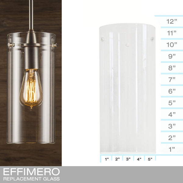 Effimero Large Clear - REPLACEMENT GLASS