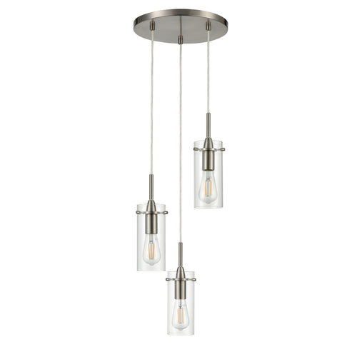 Effimero 3 Light Cluster Pendant Light