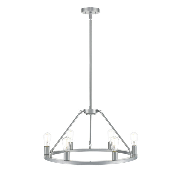Sonoro Round 26 inch Chandelier, LED bulbs included