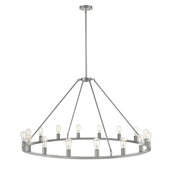 Sonoro Round 50 inch Chandelier, LED bulbs included