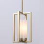Verona Single Light Pendant - Satin Brass