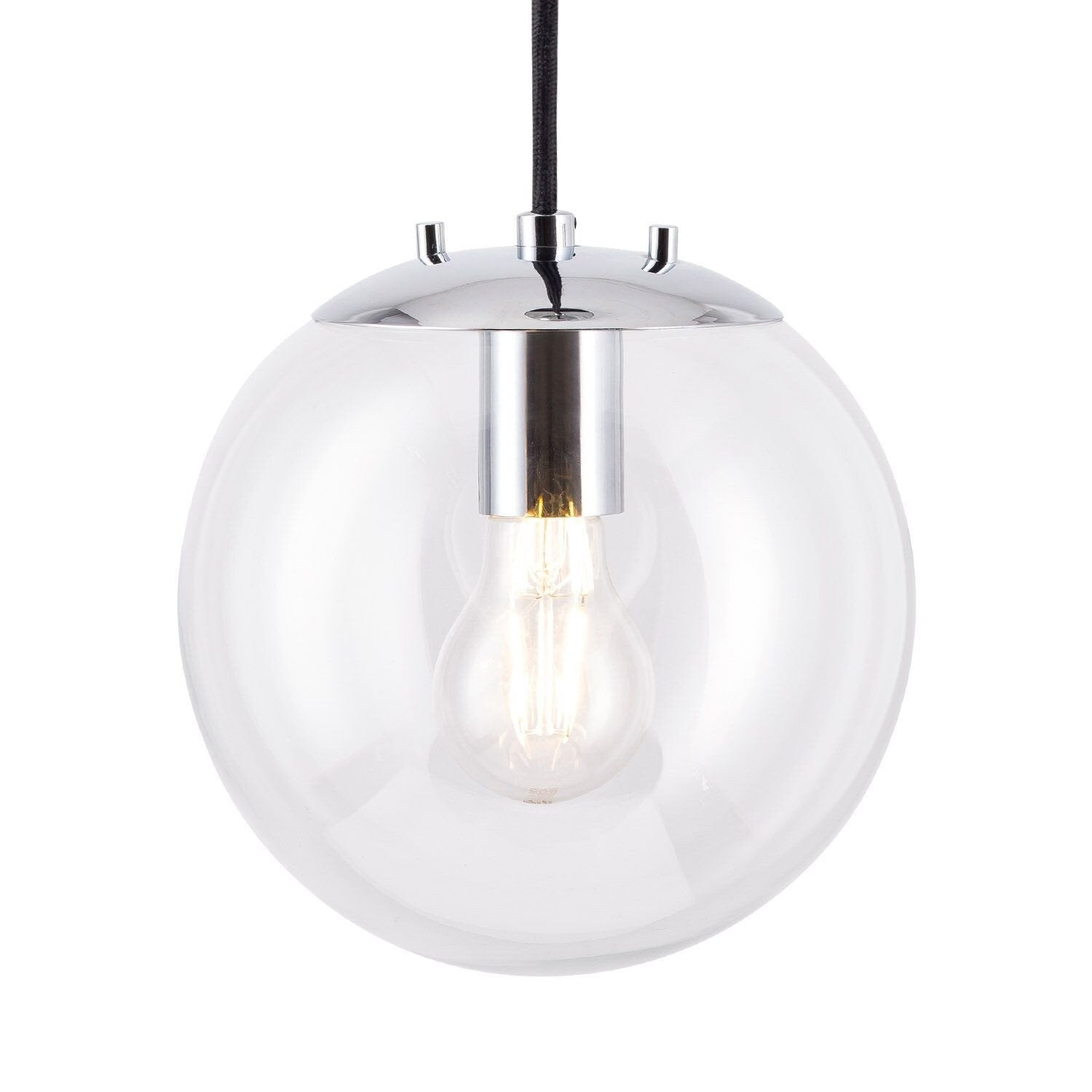 Sferra LED Industrial Kitchen Pendant Light - REPLACEMENT CLEAR GLASS