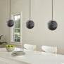 Sferra LED Industrial Kitchen Pendant Light - Smoke Glass