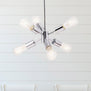Stella Sputnik Pendant Light, LED bulbs included