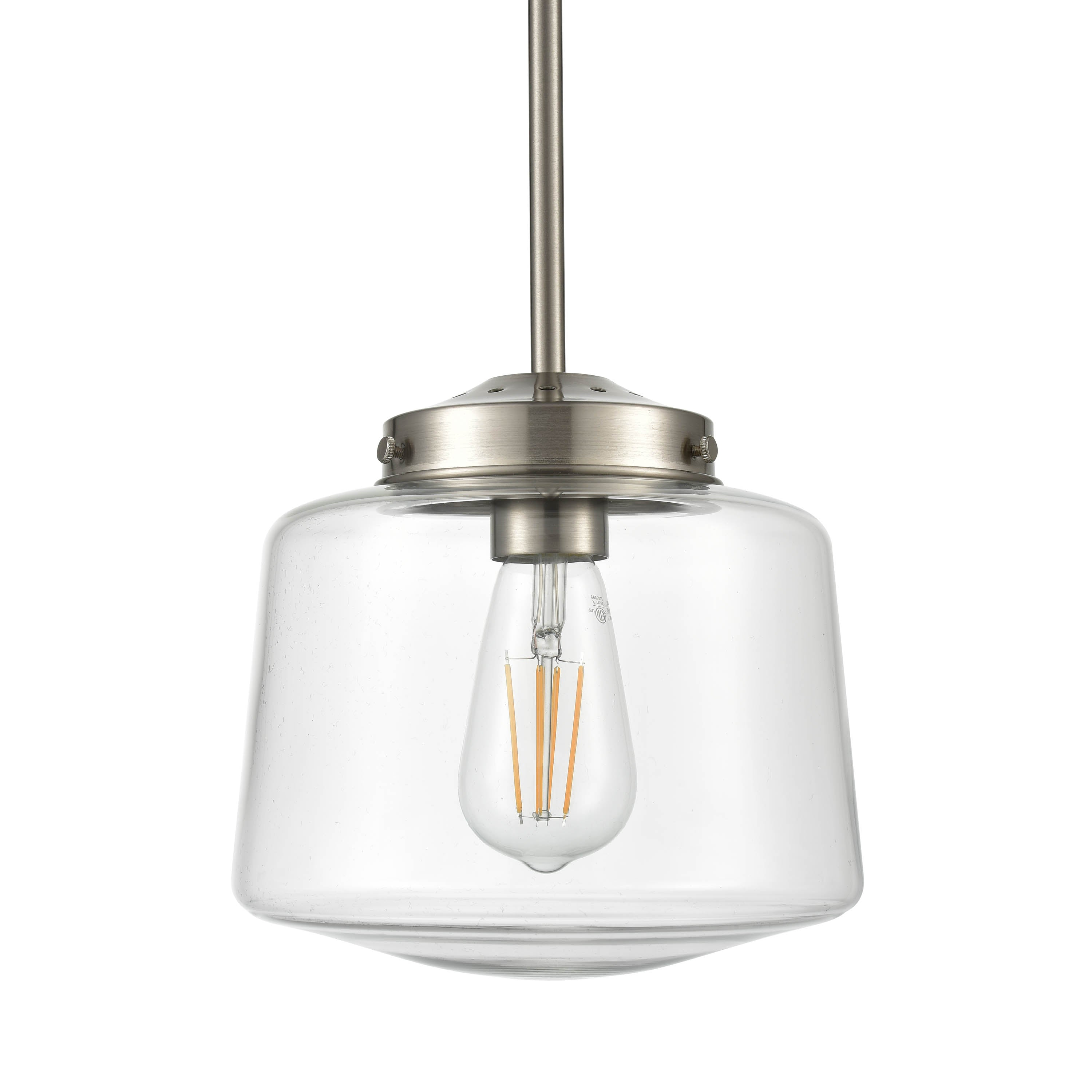 Image of: Scolare Schoolhouse Pendant Light Led Bulb Included Linea Lighting Modern And Affordable Residential Lighting