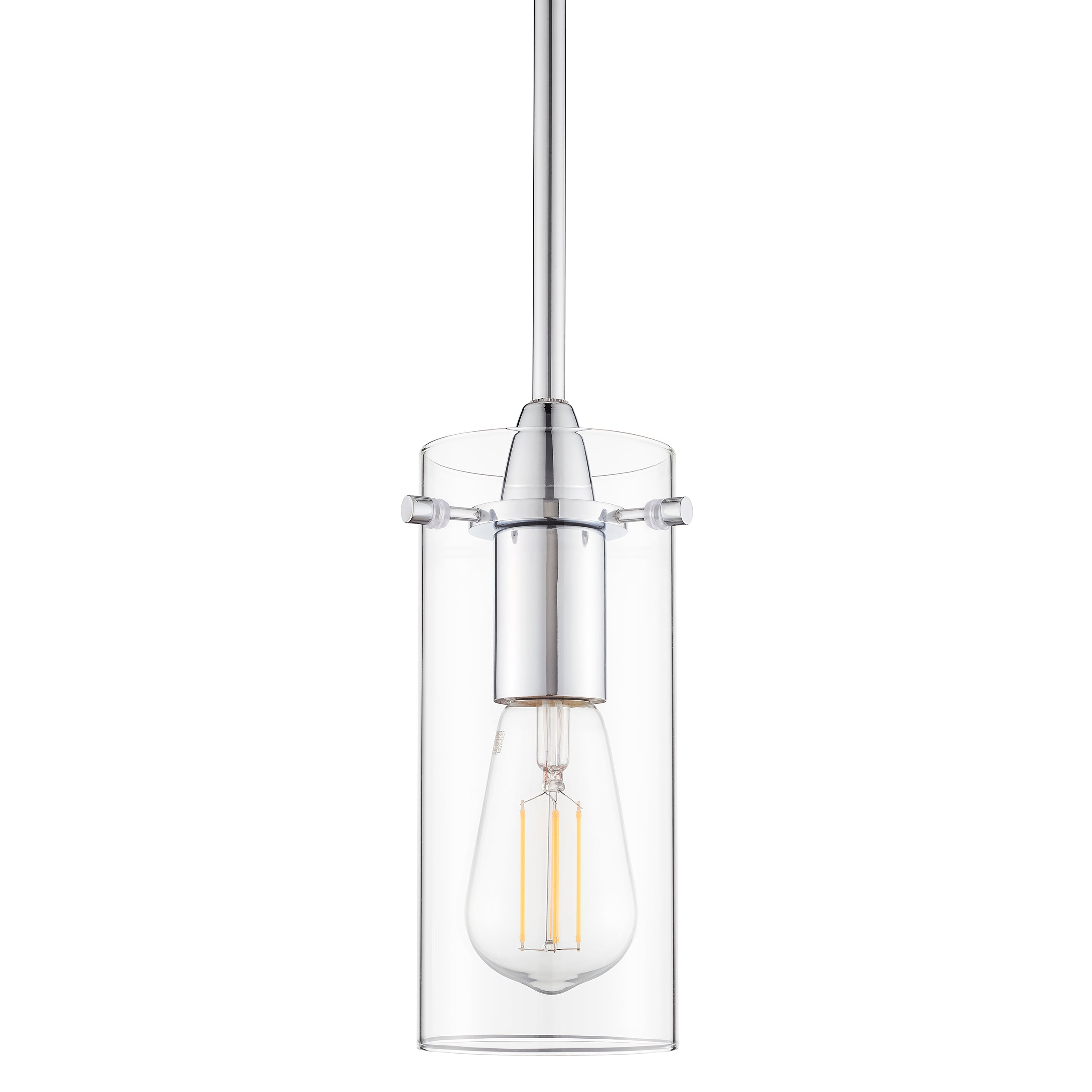 Effimero Glass pendant lighting with no visible wiring, perfect for kitchens and dining rooms