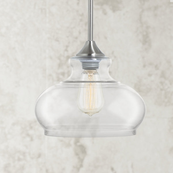 Ariella Ovale Pendant Light, LED bulb included