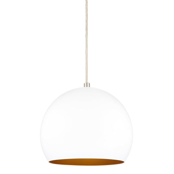 Perfect kitchen pendant light that has an industrial-chic look from Linea Lighting