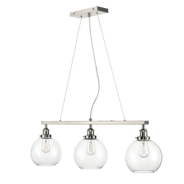 Primo 3 Light Kitchen Island Chandelier