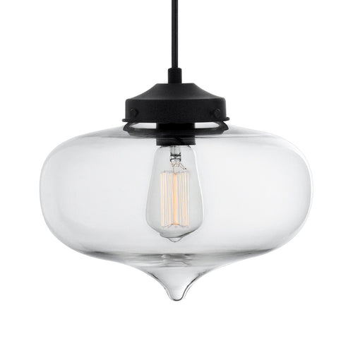 Casablanca Clear Glass Pendant Lamp