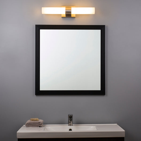 Perpetua 22 Inch LED Bathroom Vanity Light Integrated LED Light Strip With Caps