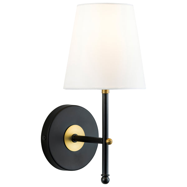 Tamb Wall Sconce w/ Fabric Shade