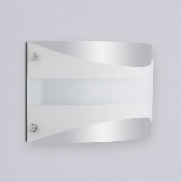 Acciaio Polished Chrome Wall Sconce