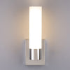 Perpetua LED Vanity Sconce Fixture 15.5W Dimmable Warm Soft Light Frosted Glass 1300 Lumens 3000K Modern Bathroom Mirror Lighting - 13.5-inch high