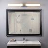 Perpetua 42-inch LED Vanity Fixture 53.5W Dimmable Warm Soft Light Frosted Glass 4600 Lumens 3000K Modern Bathroom Bar Mirror Lighting