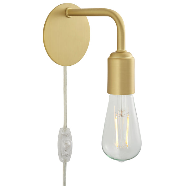 Trasso Plug-in Wall Sconce