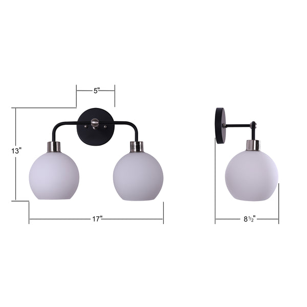 Lukasa Two Light Wall Sconce