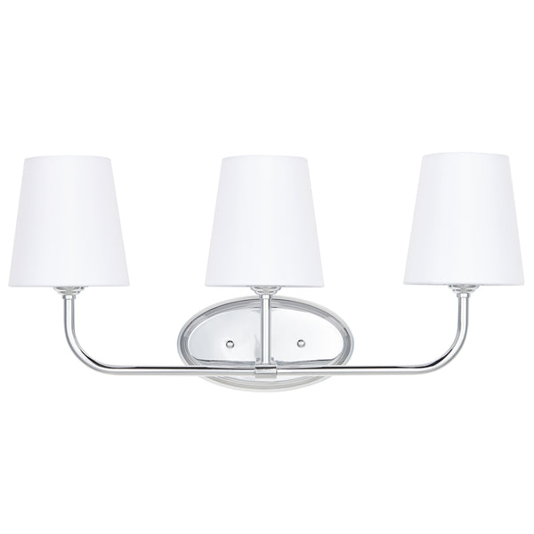 Filamia 3 Light Bathroom Vanity Light