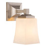Brighton 1 Light Bathroom Vanity Light w/Frosted Glass