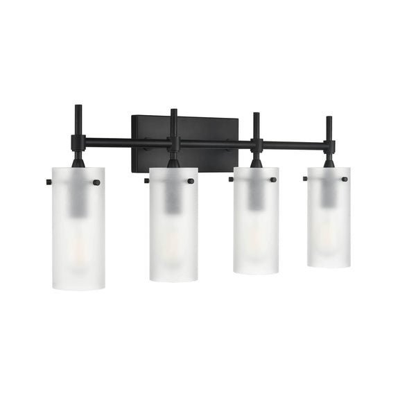 Effimero 4 Light Wall Sconce, Frosted Glass