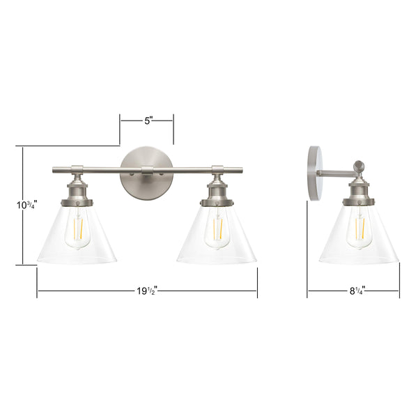 Tenesa Two Light Wall Sconce