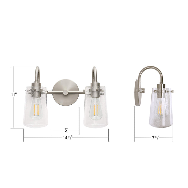 Lentia Two Light Wall Sconce