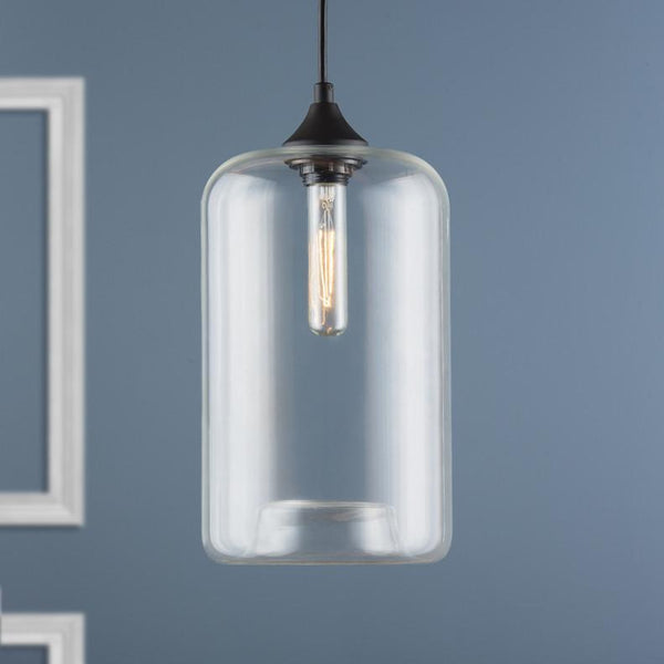 Torrazo Clear Glass Pendant Lamp