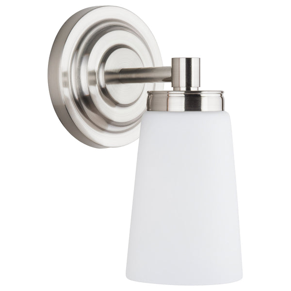 Sheffield 1 Light Bathroom Vanity Light w/Frosted Glass