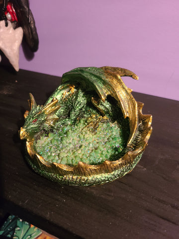 Green Dragon Incense Burner