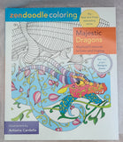 Zendoodle Coloring ~ Magestic Dragons