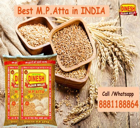 MP Sharbati Wheat Atta - Dinesh Flour Mills