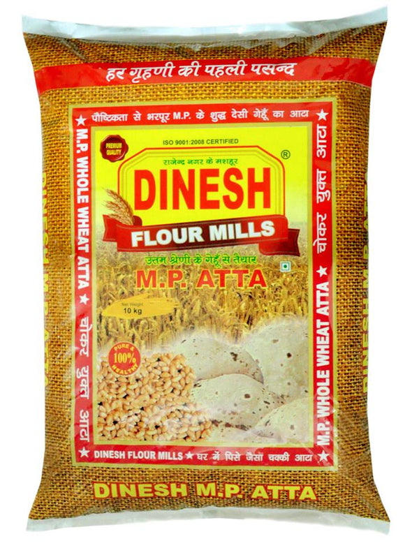 DINESH MP ATTA - Prepared fresh from best quality Madhya Pradesh Sharbati Wheat