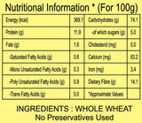 Atta Nutritional Information