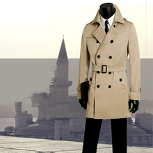 Load image into Gallery viewer, BUSINESS TRENCH COAT