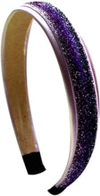 Load image into Gallery viewer, Satin Glitter Sparkle Arch Headband - 17 Colors!