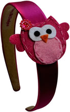 Load image into Gallery viewer, Felt Owl Girls Arch Headband