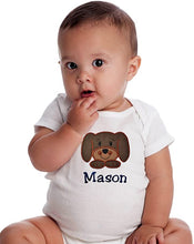 Load image into Gallery viewer, Personalized Puppy Dog Bodysuit With Custom Name