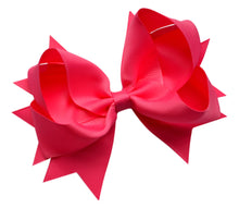 Load image into Gallery viewer, 4.5 Inch Grosgrain Hair Bow - MANY COLORS!